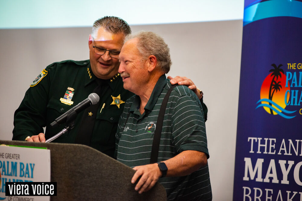Ivey roasts mayors in front of a sold out crowd in Viera