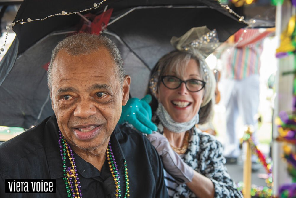 Chateau Madeleine Senior Living celebrates Mardi Gras in style