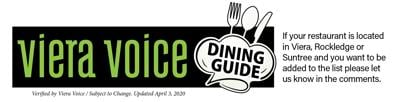Viera Voice Dining Guide