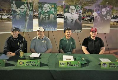 Signing day 'a dream come true' for four Viera football players