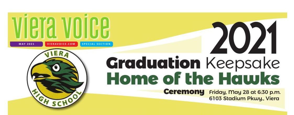 2021 Viera High School Graduation Keepsake
