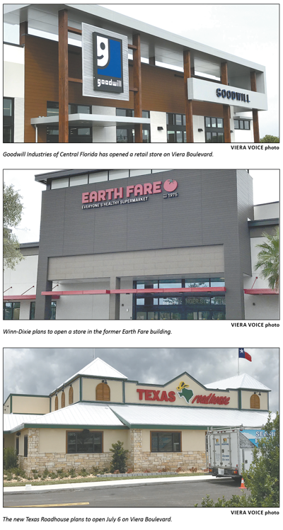 Businesses like advantages along Viera Boulevard interchange