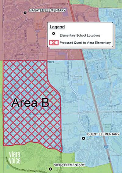 Proposed Viera boundaries could shift Quest students