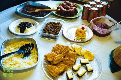 Non-traditional family dishes add spice to Thanksgiving meals
