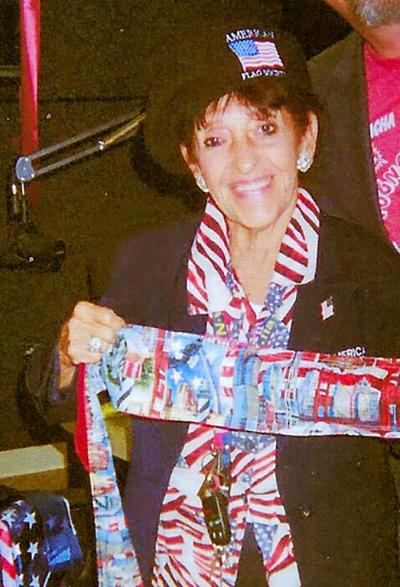 It's a red-white-and-blue world for Rosemary Reder