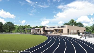 Holy Trinity's fieldhouse of dreams nears completion