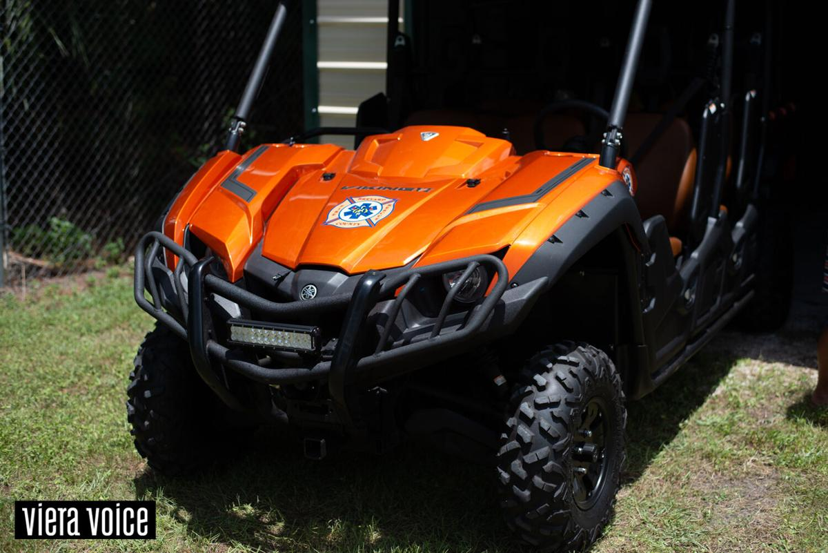 New response vehicle stationed at Brevard Zoo Linear Park