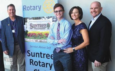 New scholarship by Rotary Club of Suntree awarded to essay winner