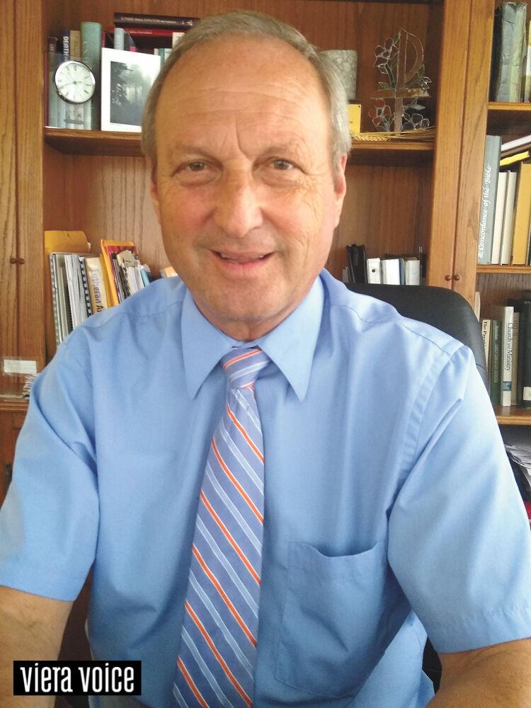 Ron Meyr, pastor of Faith Viera Lutheran Church
