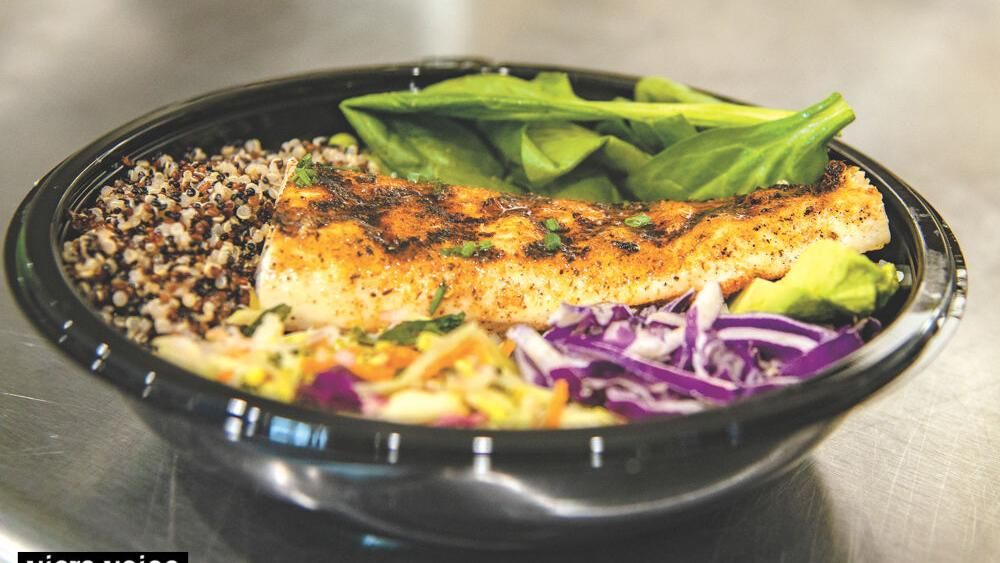 Twisted Fin offers fresh, healthy seafood fare