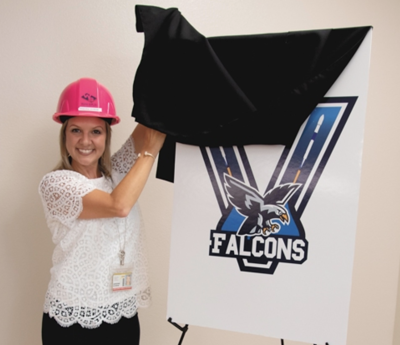 Viera Elementary School unveils new mascot, logo, colors