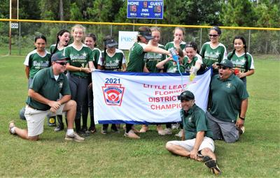 VSLL Majors All-Star softball team sweeps way to district title