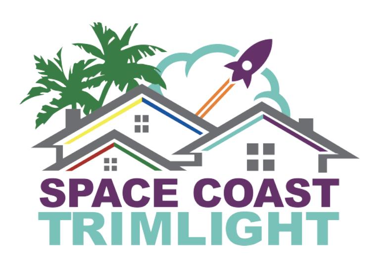 space coast trim light logo