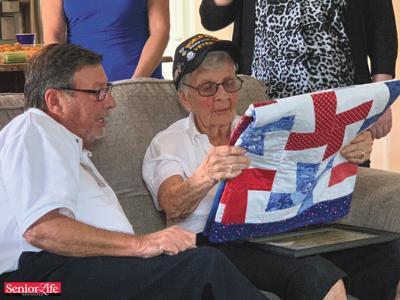 Hospice of St. Francis program honors veterans individually