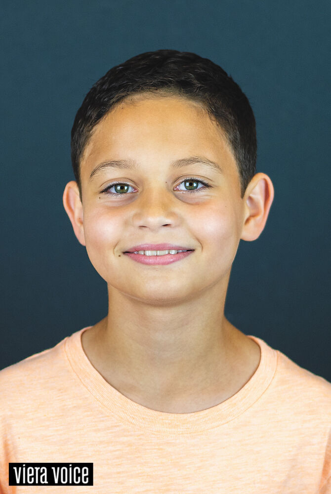 Kason Hodge is the Viera Voice cover kid contest winner