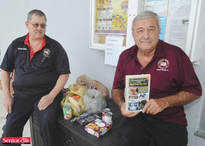 Organization branches into food distribution for needy veterans