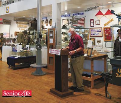 Submarine functional periscope unveiled at veterans museum