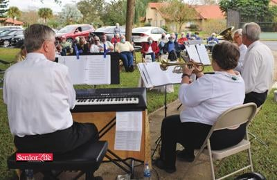 Ensemble lifts spirits with lively outdoor concerts