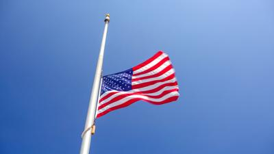 Flags at half-staff to honor FBI special agents Daniel Alfin and Laura Schwartzenberger