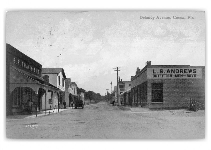 History — Then and Now — Delannoy Street