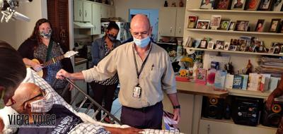 Forever A Hero team honors veterans in hospice care