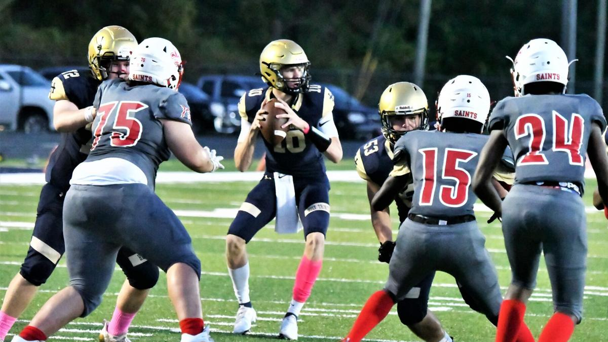 Englehart throws for four touchdowns, Campbell scores his first TD – ever – as Tigers improve to 6-0