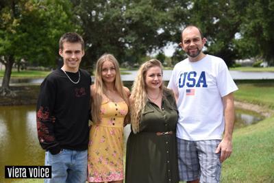 Family living the Viera dream