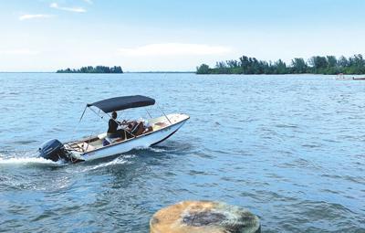 Fortunate few enjoy VIP island life near Grant