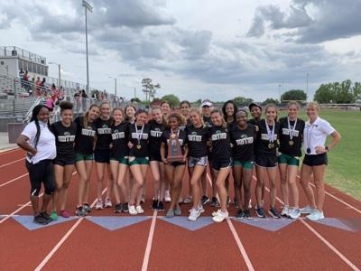 Viera girls win district track championship, boys come in second