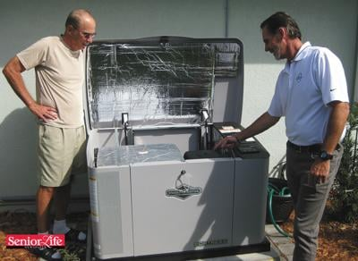 Automatic home generator offers powerful 'peace of mind'