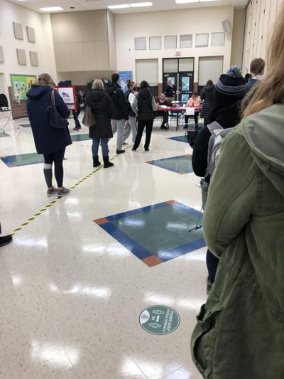 Disregard for COVID-19 Safety Precautions at the Polls