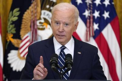 President Biden Holds His First Press Conference in Office
