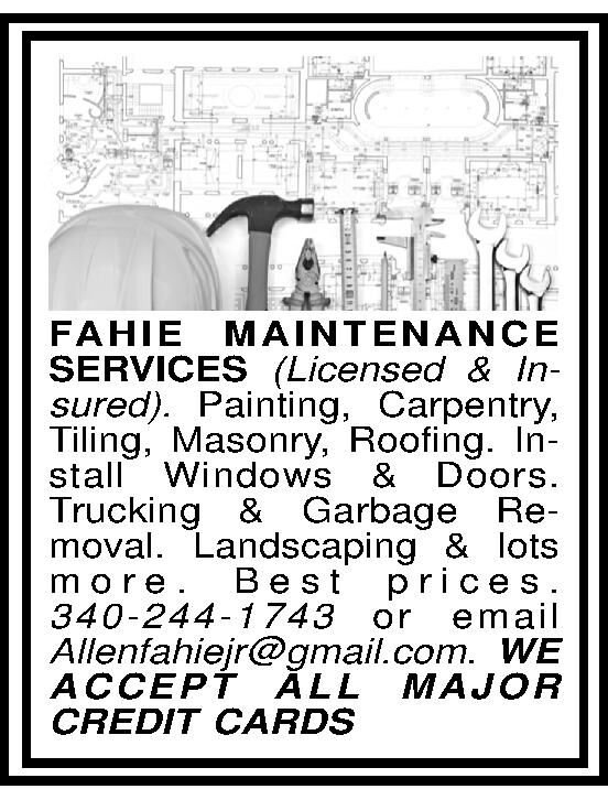 FAHIE MAINTENANCE SERVICES
