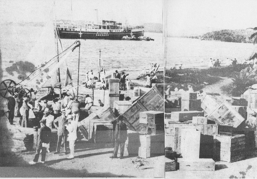 Christiansted wharf