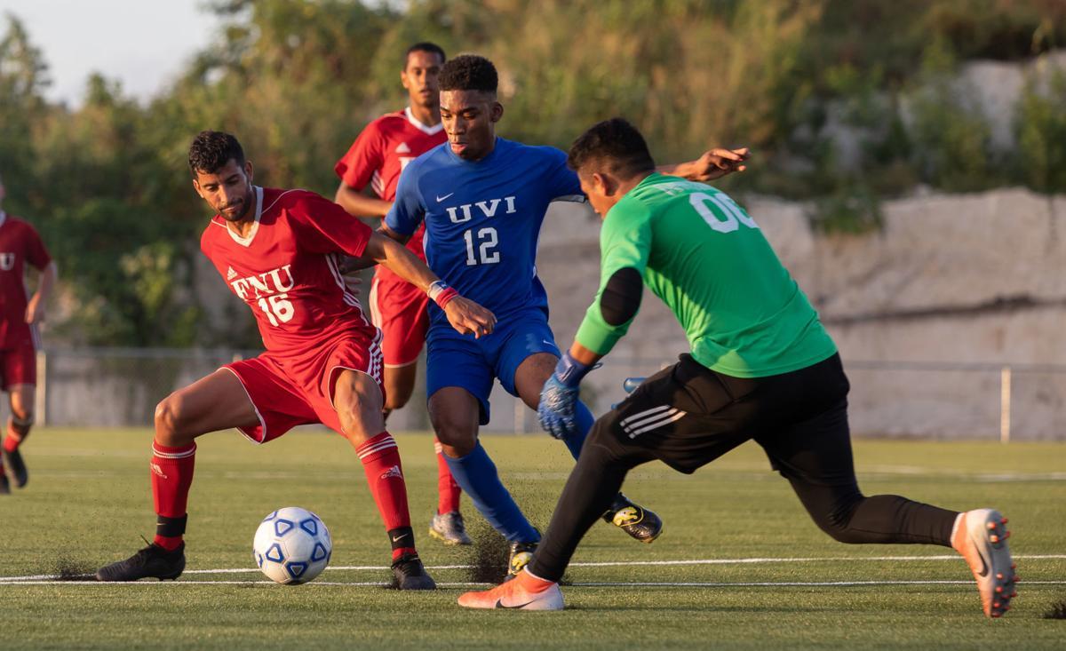 UVI vs FNU soccer 1
