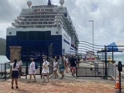 BVI's cruise tourism restarts Wednesday with the first of 193 calls