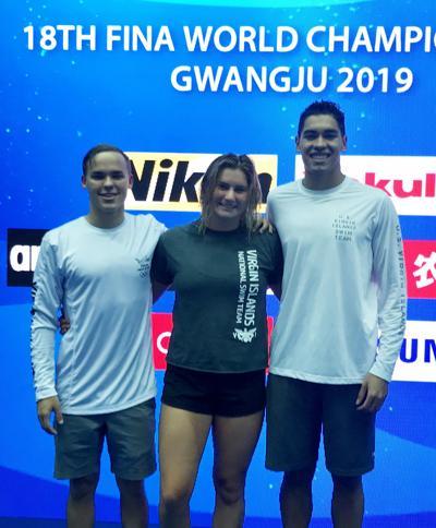 USVI swimmers