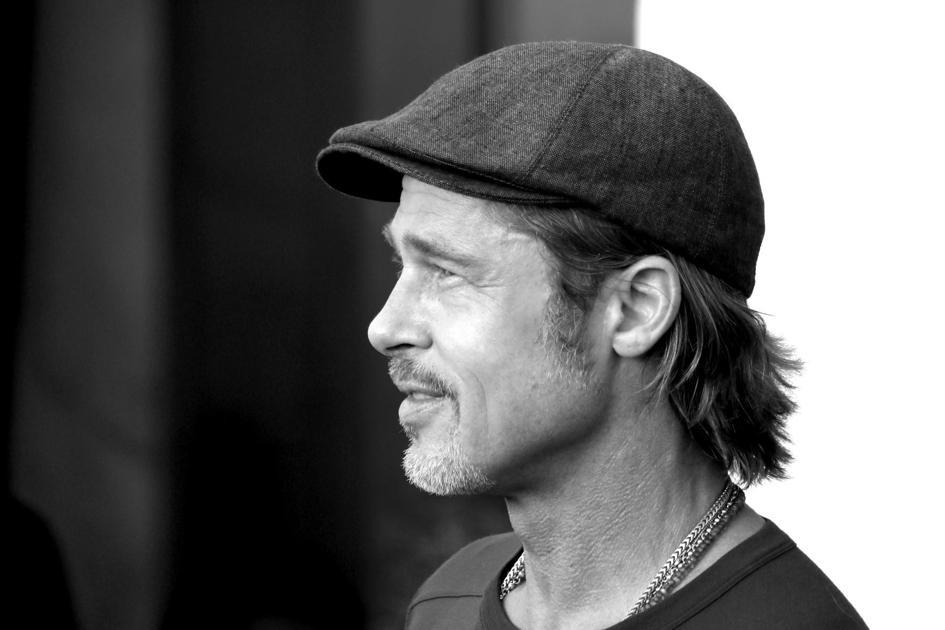 Brad Pitt Side Profile
