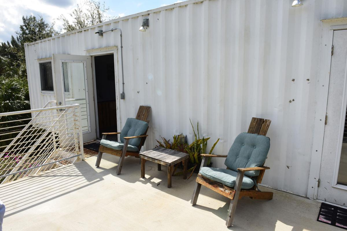 Shipping containers take on new life as homes, businesses