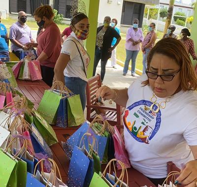 Virgin Islands Puerto Rican Friendship donation
