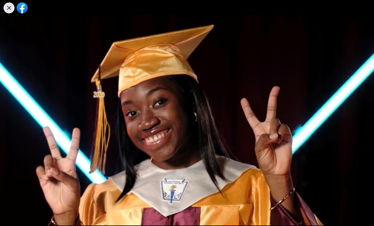 Ivanna Eudora Kean High School graduation