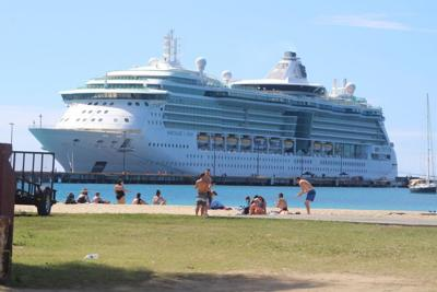 Royal Caribbean ship calls on St. Croix