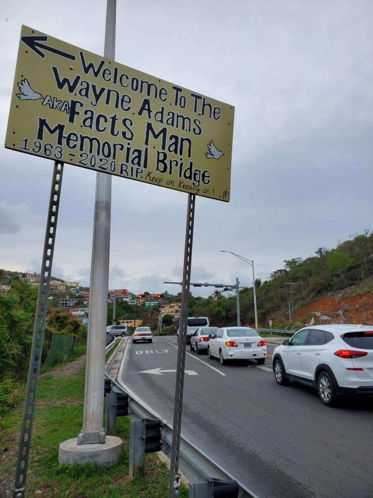 Effort to name bridge going Nowhere