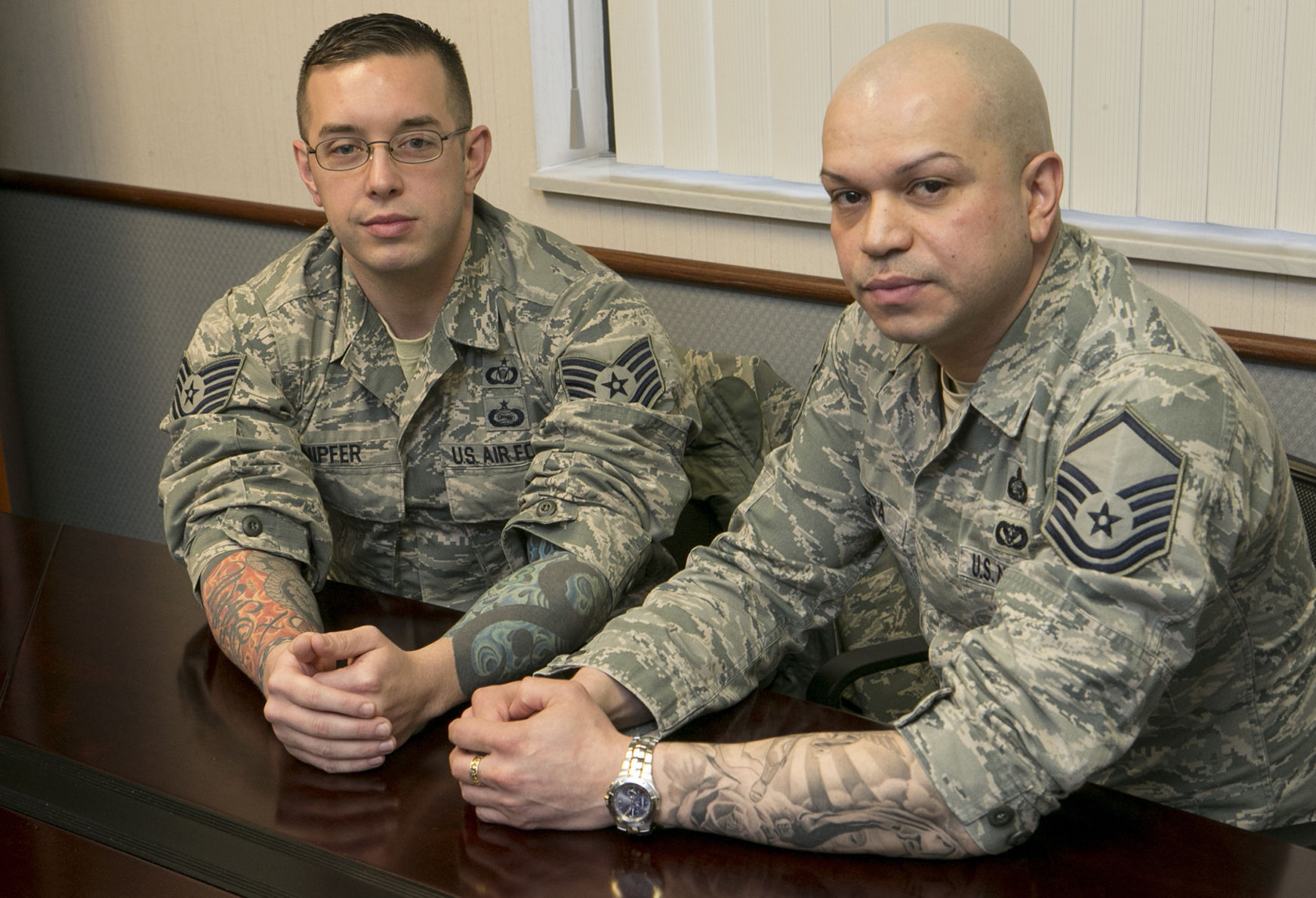Air Force Relaxes Tattoo Policy, Allows Sleeves |
