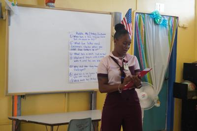 Donations help V.I. teachers