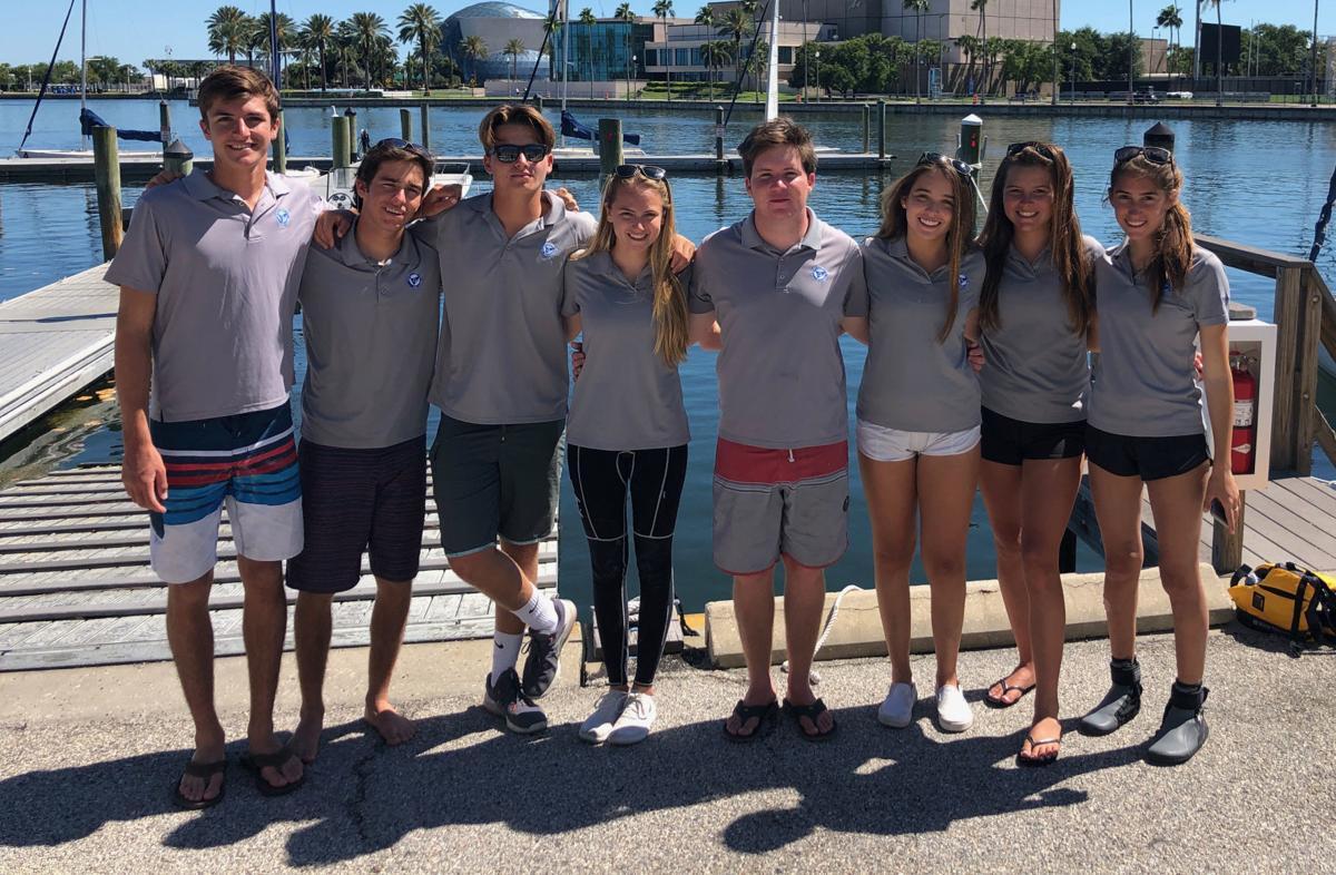 Antilles sailing team