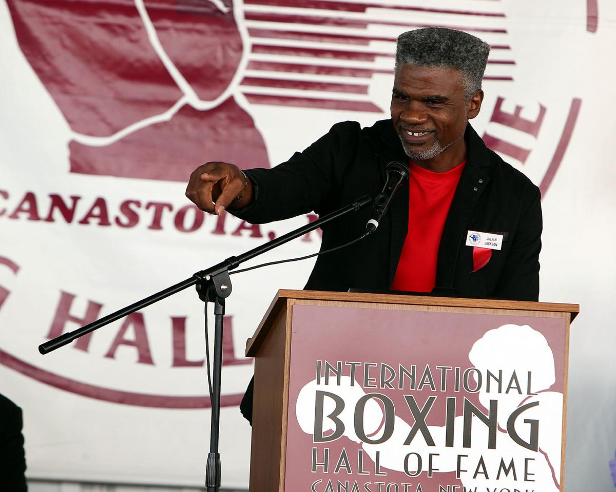 Julian Jackson International Boxing Hall of Fame 07