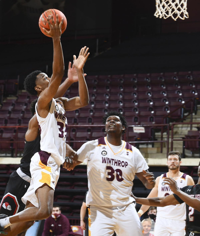 NCAA BASKETBALL:  JAN 09 Gardner-Webb at Winthrop