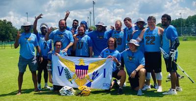 USVI men's lacrosse team