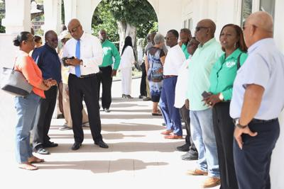 Nominations Day for the Feb. 25 election in the BVI
